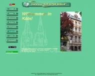 Bild Webseite Gästehaus zu den guten Quellen Inh. Beate Real-Deley Köln