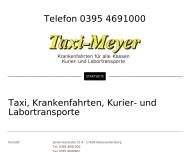 Website Taxi-Meyer