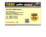 Bild Krause Taxiunternehmen