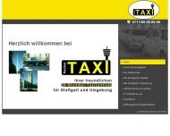Bild Webseite Neckar-Taxi Stuttgart