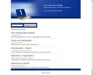 Website Taxi Darmstadt Flughafen Frankfurt Flughafentransfer
