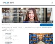 Website MAVERLO Industriedienstleistungen