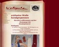 Website Handspinnerei Wollspatz