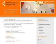 Bild Webseite Zahnärztliche Tagesklinik Überörtliche Berufsausübungsgemeinschaft Dr. Eichenseer MVZ München