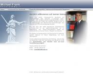 Bild Michael Frank - Rechtsanwalt und Fachanwalt für Strafrecht
