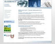 Bild Webseite M - Concept München