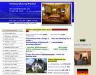 Website Ferienwohnung Palmié
