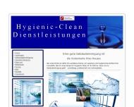 Website Hygienic-Clean Dienstleistungen
