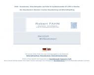 Website FAHN Wirtschaftsprüfer, Steuerberater, Prüfer für Qualitätskontrolle, in Kooperation mit HT²W Rechtsanwälte in München