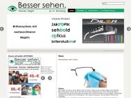 Bild Webseite Sehbald Optik Nürnberg