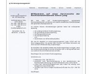 Bild Webseite aj-forderungsmanagement Berlin
