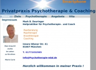 Website Privatpraxis für Paartherapie, Psychotherapie und Coaching