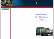 Bild Webseite  Tensfeld