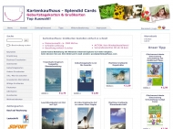 Website Kartenkaufhaus - Splendid Cards