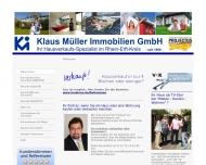 Website Klaus Müller Immobilien