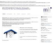 Bild RECHTSANWALT Martin Holzapfel Fachanwalt für Miet- und Wohneigentumsrecht