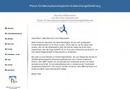 Website Praxis für Neurophysiologische Entwicklungsförderung