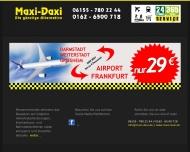 Bild Maxi Daxi (Minicar) Darmstadt-Griesheim  Flughafentransfer ab Darmstadt nur 29¤