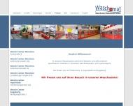 Website Waschsalon & Wäscherei München