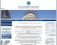 Website Alexander am Zoo