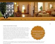 Bild Webseite Hotel Beethoven Frankfurt