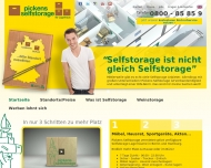 Website Pickens Selfstorage - Ihr Lagerhaus - Hamburg Wandsbek