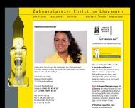 Bild Webseite Zahnarztpraxis Lippmann Hamburg