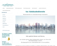 Website tsc Gebäudedienste