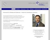 Bild Webseite Fachanwalt für Medizinrecht Dubitscher Hamburg