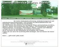 Website Dienste-Service Waren