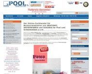 Bild Webseite POOL-Shop24.com Dessau-Roßlau