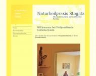 Website Naturheilpraxis Steglitz Cornelia Quarz