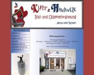 Website Kunst & Handwerk