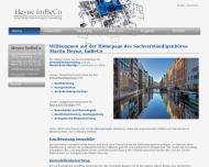 Bild Webseite Heyne ImBeCo Hamburg