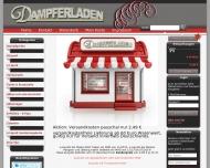 Website Dampferladen Carsten Leetz
