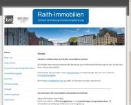 Website Raith Immobilien