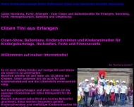 Website Ballonclown Tini