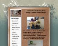 Bild Webseite Hundefriseurin Anschi München