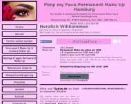 Bild Webseite Permanent Make Up Hamburg  - Pimp my Face Hamburg