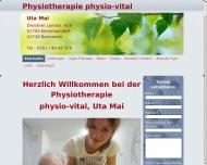 Bild Physiotherapie physio-vital Uta Mai