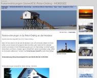 Bild Webseite  Sankt Peter-Ording