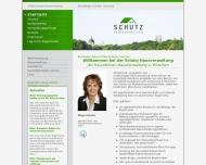 Website Schütz Hausverwaltung