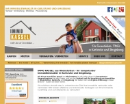 Website IMMOKASSEL Rheinstetten