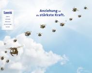 Bild Webseite Studio Laeis Köln