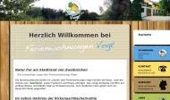 Website Ferienwohnungen Vogt