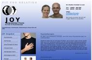 Bild Webseite JOY HeilpraktikerPraxis für Paartherapie und Psychotherapie Köln