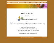 Website Dipl.-Psych. Susanne Raphael