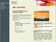 Bild Webseite kh-malerei Hamburg