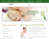 Website Beauty Lounge Yilmaz
