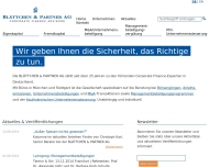Website BLÄTTCHEN & PARTNER